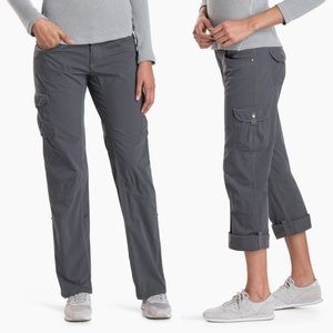 KUHL Splash Roll Up Pant Relaxed Fit Shadow Gray 6